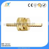 Brass hose barb connector hose fitting