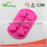 WCA104 Nonstick Silicone Cake Baking Mold Soap Art Moulds Cake Pan Muffin Cups Biscuit Chocolate Candy Ice Tray DIY Mold