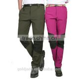 Custom Breathable Waterproof Hiking Softshell Pants Hiking Outdoor Summer Fast Dry Pants
