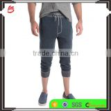 wholesale 2017 OEM Mens Denim Joggers Casual Jeans Denim latest design sports trousers for men