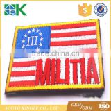 Bulk Wholesale 2D PVC Material US military morale flag patch