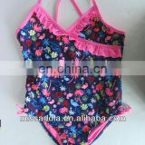 Floral Lace Swimsuit For Kids