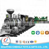 Funny toy track slot car racing electric train sets