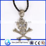 New Fashion jewellery Gothic Lovely Skull skeleton Necklace for women girl (mix different item)
