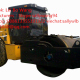 factory Direct sales single drum double amplitude vibratory roller