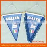 2015 Hot sell car mirror or window decoration hanging flag