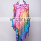 Couples cashew flower with wire line viscose jacquard pashmina shawl & scarf 70*180cm add 2*10cm fringe good quality