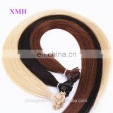 Best Quality Keratin Hair Flat Tip Pre bonded European Hair Extensions