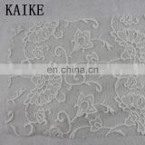 Wholesale ready goods lurex textile chantilly lace saree fabric dubai