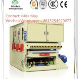 Three heads wide belt calibrate sander machine for makig plywood/ chipboard