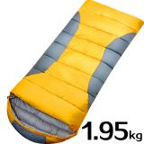 Portable 210T Waterproof Nylon Spring Spinning Hollow Cotton Sleeping Bag for Spring Autumn Winter
