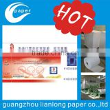new arrive high-quality Anti-counterfeiting watermark ticket with invisible barcode