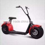 2016 Top sale electric city scooter with max 800W power motorcycle citycoco scooter with color optional for young kids