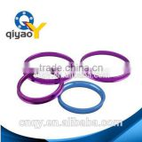 Aluminum wheel rim ring for wheel of car