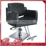 Awesome design leather pu barber chair with hydraulic beauty parlour chair hair salon equipment salon chair
