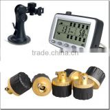 Stand alone Wireless TPMS with external/internal sensor for truck ,DIY install for 1 minutes