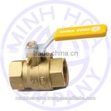BRASS BALL VALVE FOR GAS MIHA BRAND DN 10