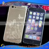 Soft ultra-thin 0.6mm TPU butterfly mobile cell phone case cover shell for Apple for iphone 6 i6 4.7 factory wholesale