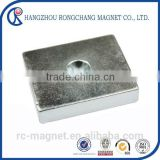 N35UH Super Strong Neodymium Block electro magnet for Industry