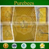 Purebees Langstroth deep honeycomb foundation plastic organic beeswax foundation sheet