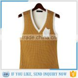 New design knitted wool vest men latest design winter sweater                                                                         Quality Choice