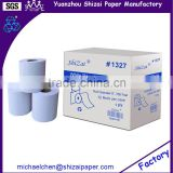 "White Recycle paper roll towel, roll diameter 8"", 350 feet, 12 roll per case from direct manufacturer"
