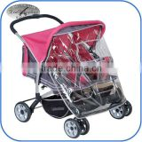 side by side twin baby stroller baby stroller double 2016T