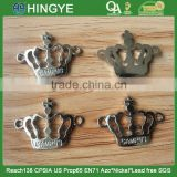 2015 New Arrive Crown Shape Metal Sew-on Badges --- M1716
