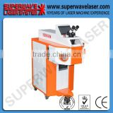 High Efficient 100J 120J 150Joule Silver and Gold Jewelry Pedestal Laser Spot Welding Machine
