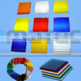 Plastic PMMA Extruded and Cast transparent colored acrylic sheet                                                                                                         Supplier's Choice