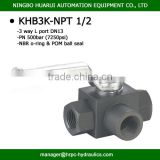 3 way ball valve                                                                         Quality Choice