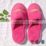 Personalized women hotel coral fleece winter super warm indoor slipper bathroom slippers