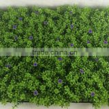 real touch 40*60cm green artificial grass carpet with purple flowers                                                                         Quality Choice                                                                     Supplier's Choice