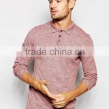Cotton Sport Top Quality Man'S Polo T-Shirts Three Button Longsleeve Mens Polo Sports Shirt