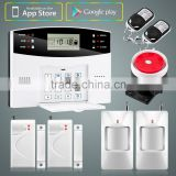 New Hot Sales Series YL-M2B LCD Display with Time Clock GSM Wireless Home Burglar Security Alarm System