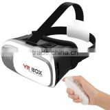 2016 Newest trending hot products 3D VR headset Smartphone plastic VR boxes 3d glasses