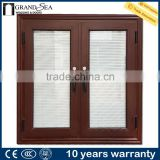 Aluminum material adjustable wood window frames shutter designs                                                                         Quality Choice