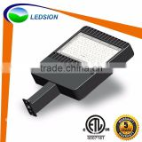 US Stock outdoor led flood light fixtures / ETL 150w shoebox light led / shoebox LED area lighting