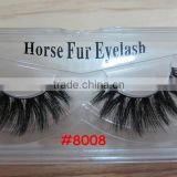 High quality,new fashion style horse hair eyelash, 100% horse fur eyelash