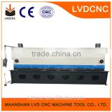 QC11Y/K 6x2500 LVD-CNC Hydraulic Guillotine Shearing Machine, Q235 steel plate shearing machine
