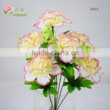 milky white carnation flower for marriage decoration