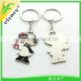 Wedding Favor Gifts Metal Key Chain Wholesales