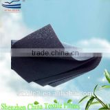 Activated carbon odor absorbing fabric