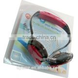 New mp3 sport player with fm radio Play tf mp3 music ,Wireless Stereo sport mp3 headphones