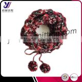 Fashionable custom hand crochet loop scarf infinity knit scarf neckwarmer factory wholesale sales (accept custom)