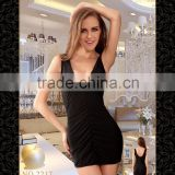 Temptlife Brand TL2217 High quality adult sexy backless V shap sexy lingerie nightwear dress