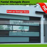 frosted glass folding overhead sectional garage doors