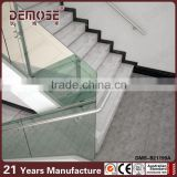 decorative stainless steel outdoor glass handrails