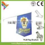 Wall Mounted PVC Shop Banner Flag Wall Brackets                                                                         Quality Choice