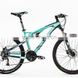 "26"" inch 27 speed downhill bike with full suspension mountain bike frame"